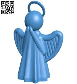 Angel tea light B008063 file stl free download 3D Model for CNC and 3d printer