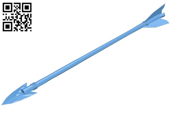 Arrow B008296 file stl free download 3D Model for CNC and 3d printer