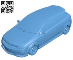 Astra GTC car B008182 file stl free download 3D Model for CNC and 3d printer