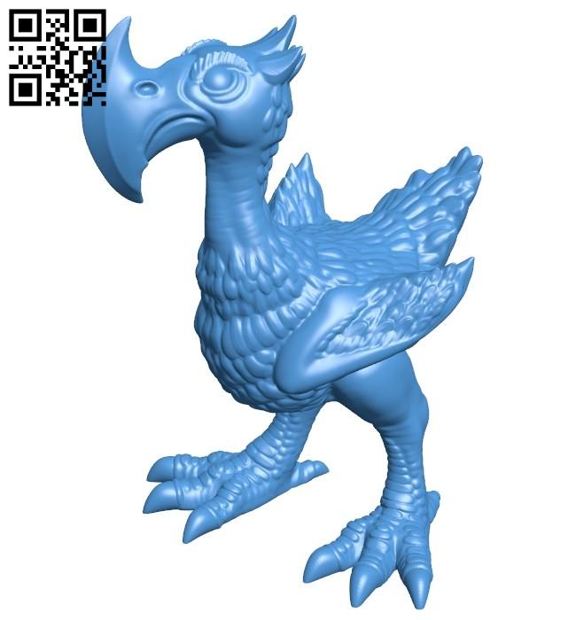 Axe Beak B008112 file stl free download 3D Model for CNC and 3d printer