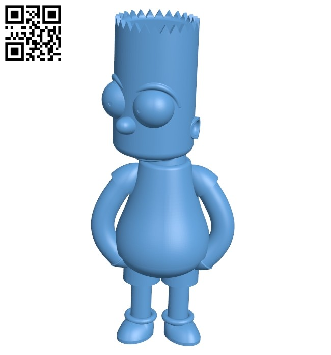 Bart B008185 file stl free download 3D Model for CNC and 3d printer
