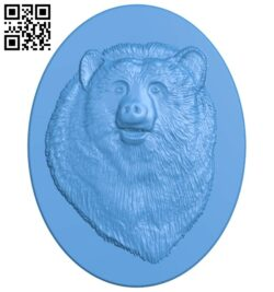 Bear painting A005271 download free stl files 3d model for CNC wood carving