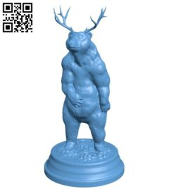 Brown Beer B008191 file stl free download 3D Model for CNC and 3d printer