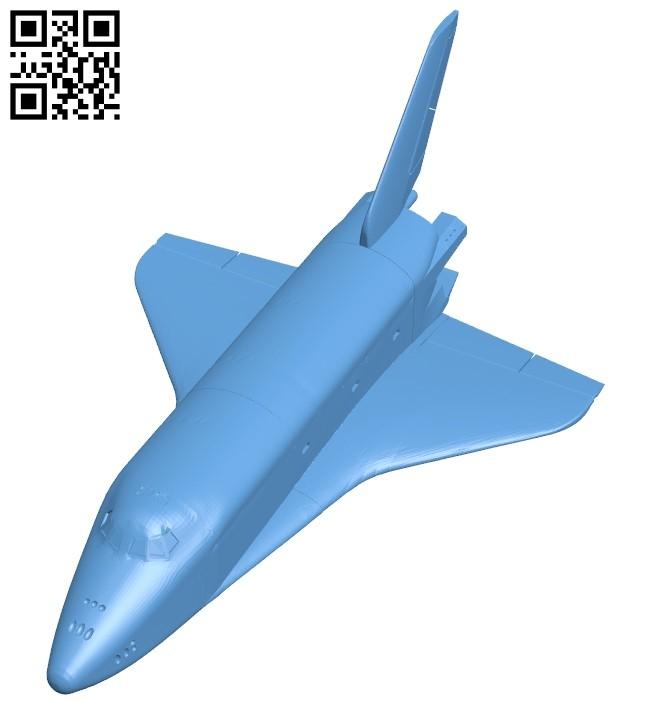 Buran ship B008193 file stl free download 3D Model for CNC and 3d printer