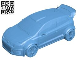 Car race polo B008247 file stl free download 3D Model for CNC and 3d printer