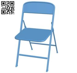 Chair B008216 file stl free download 3D Model for CNC and 3d printer