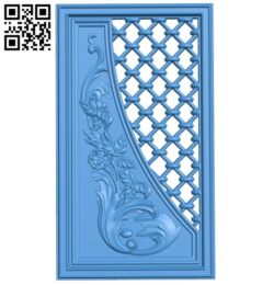 Door pattern A005246 download free stl files 3d model for CNC wood carving