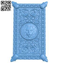 Door pattern A005386 download free stl files 3d model for CNC wood carving