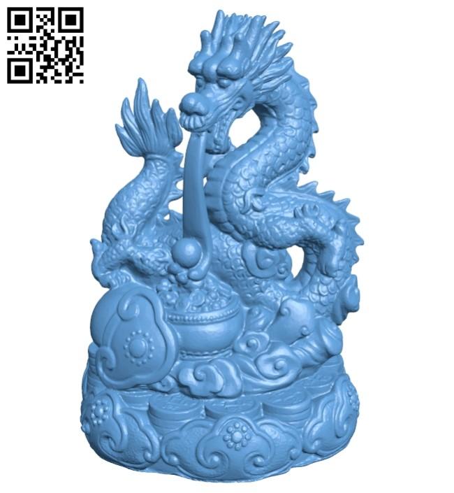 Dragon B008233 file stl free download 3D Model for CNC and 3d printer