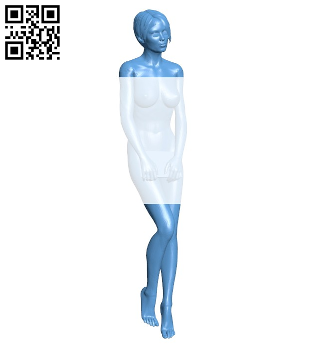 Female accountant B008157 file stl free download 3D Model for CNC and 3d printer