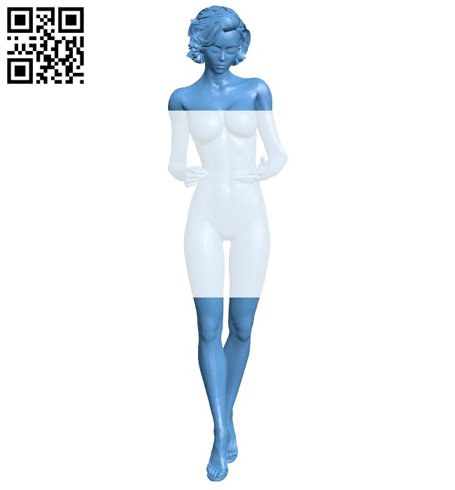 Female accountant B008159 file stl free download 3D Model for CNC and 3d printer