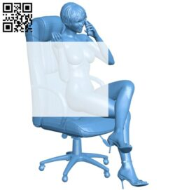 Female director B008234 file stl free download 3D Model for CNC and 3d printer