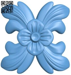 Flower pattern A005307 download free stl files 3d model for CNC wood carving