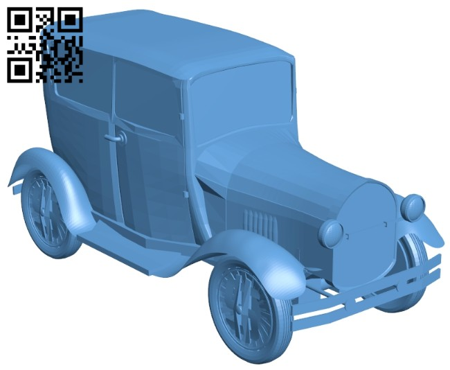 Ford model A - car B008321 file stl free download 3D Model for CNC and 3d printer