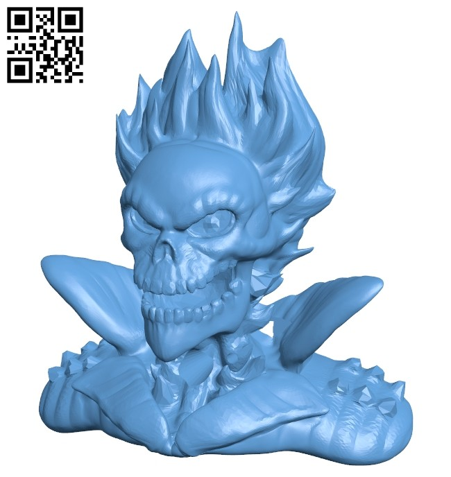 Ghost rider B008226 file stl free download 3D Model for CNC and 3d printer