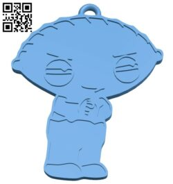 Griffin – keychain B008223 file stl free download 3D Model for CNC and 3d printer