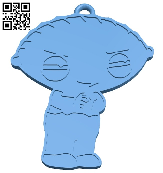 Griffin - keychain B008223 file stl free download 3D Model for CNC and 3d printer
