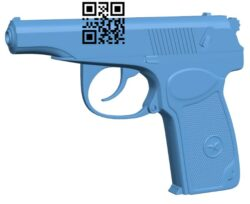 Gun PM B008262 file stl free download 3D Model for CNC and 3d printer