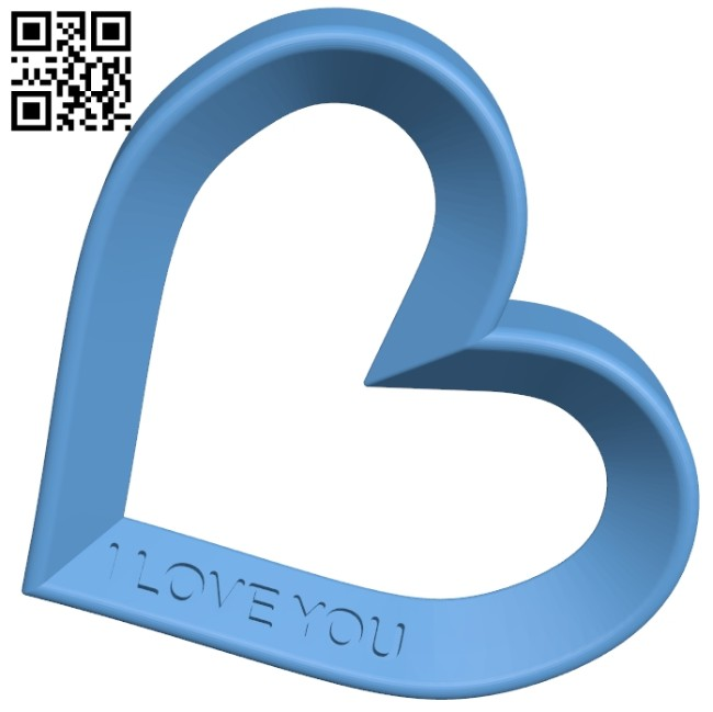 Heart of love B008318 file stl free download 3D Model for CNC and 3d printer