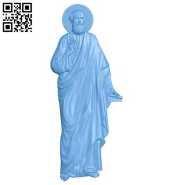 Icon of Saint Elisha A005361 download free stl files 3d model for CNC wood carving