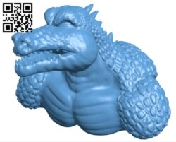 Killer croc B008180 file stl free download 3D Model for CNC and 3d printer