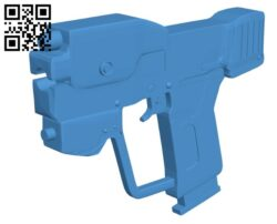 Laser gun B008117 file stl free download 3D Model for CNC and 3d printer