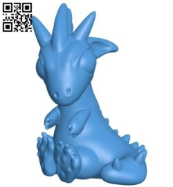 Little dragon B008066 file stl free download 3D Model for CNC and 3d printer