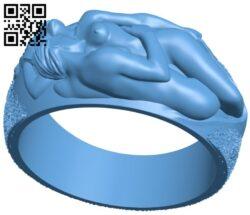 Love ring B008176 file stl free download 3D Model for CNC and 3d printer