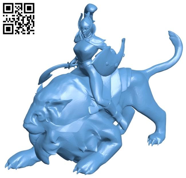 Luna B008330 file stl free download 3D Model for CNC and 3d printer