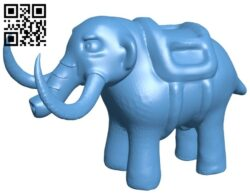 Mammoth elephant B008175 file stl free download 3D Model for CNC and 3d printer