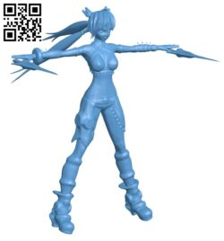 Miss Ayumi B008183 file stl free download 3D Model for CNC and 3d printer