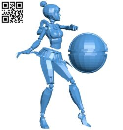 Miss Orianna B008126 file stl free download 3D Model for CNC and 3d printer