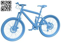 Mountain bicycle B008065 file stl free download 3D Model for CNC and 3d printer