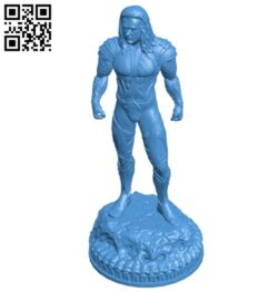 Mr Aquaman B008120 file stl free download 3D Model for CNC and 3d printer