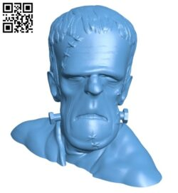 Mr Frank B008235 file stl free download 3D Model for CNC and 3d printer