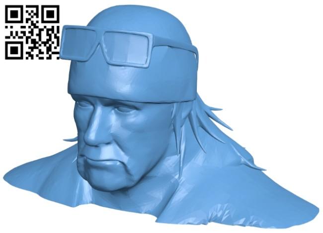 Mr Hulk B008269 file stl free download 3D Model for CNC and 3d printer