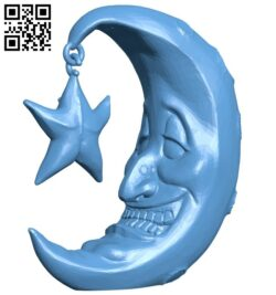 Mr Moon B008303 file stl free download 3D Model for CNC and 3d printer