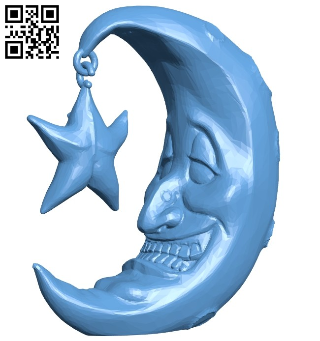 Mr Moon B008303 file stl free download 3D Model for CNC and 3d printer