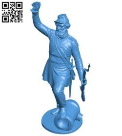 Mr Soldat B008116 file stl free download 3D Model for CNC and 3d printer
