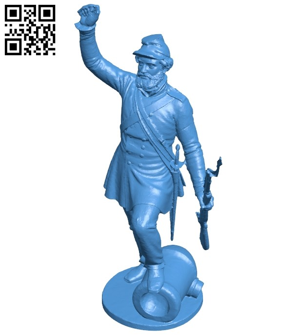 Mr Soldat B008116 file stl free download 3D Model for CNC and 3d printer