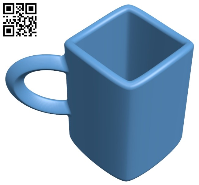 Mug B008280 file stl free download 3D Model for CNC and 3d printer