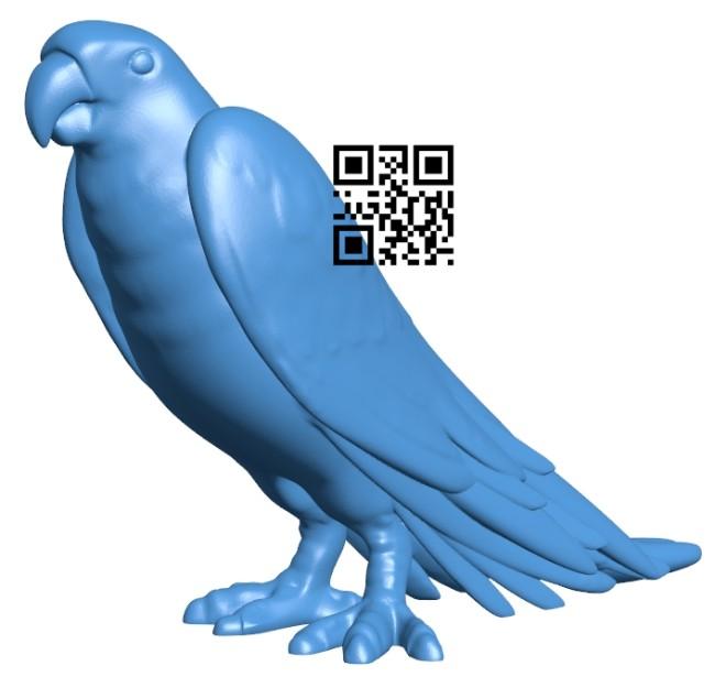 Parrot B008125 file stl free download 3D Model for CNC and 3d printer