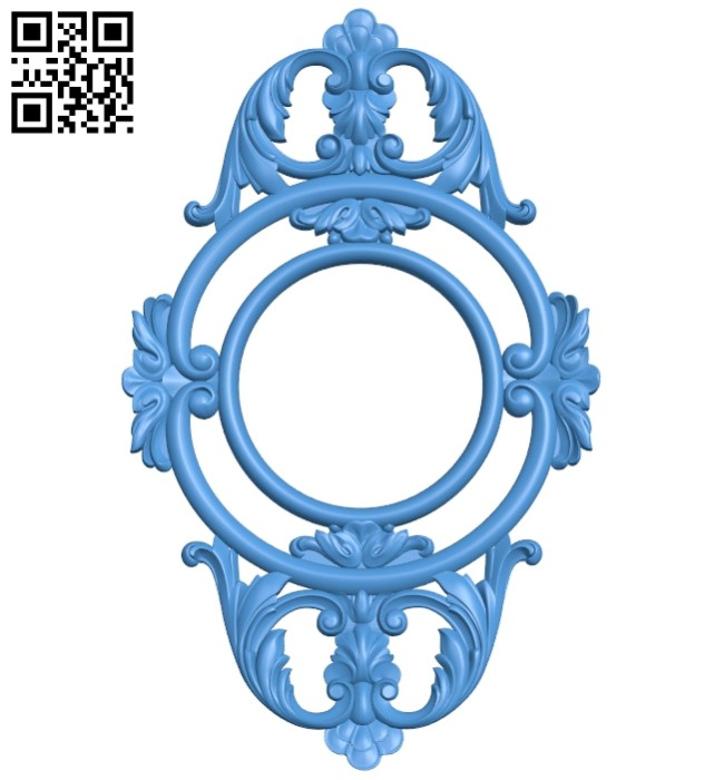 Pattern decor design A005254 download free stl files 3d model for CNC wood carving