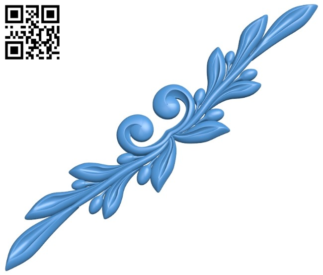 Pattern decor design A005255 download free stl files 3d model for CNC wood carving