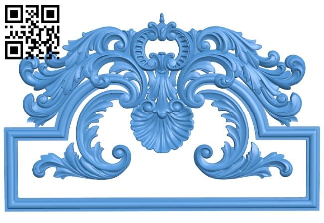 Pattern decor design A005257 download free stl files 3d model for CNC wood carving
