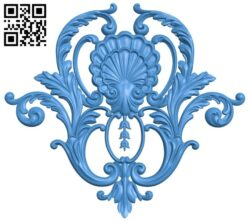 Pattern decor design A005276 download free stl files 3d model for CNC wood carving