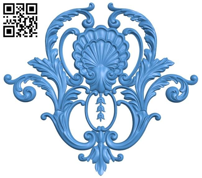 Pattern decor design A005276 download free stl files 3d model for CNC wood carving