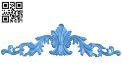 Pattern decor design A005278 download free stl files 3d model for CNC wood carving