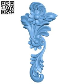 Pattern decor design A005292 download free stl files 3d model for CNC wood carving