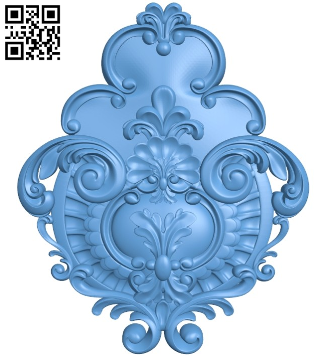 Pattern decor design A005295 download free stl files 3d model for CNC wood carving